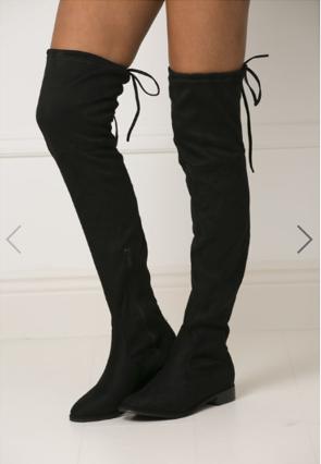 black cc boots