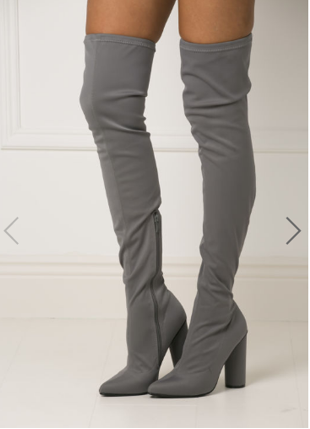 grey cc boots