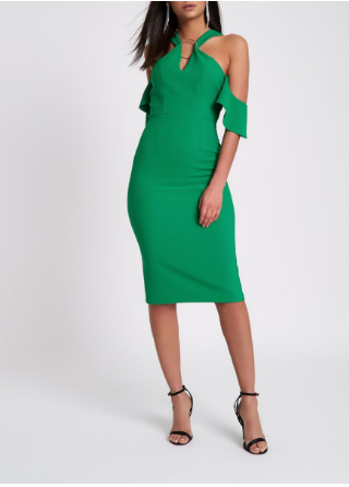 green ri dress