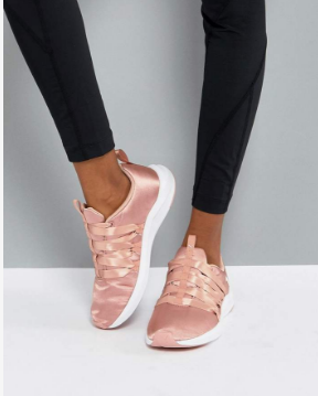 pink puma runners