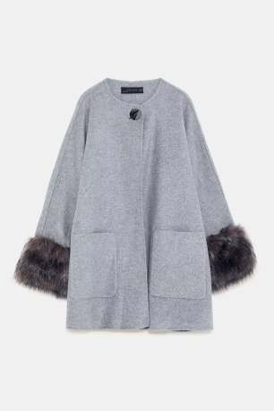 zara grey coat 2